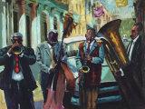 Cuban Celebration Affiche par Samuel Toranzo