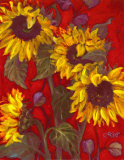 Sunflowers II Poster by Shari White