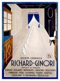 Richard Ginori Giclee Print