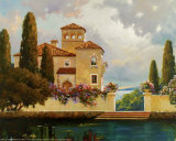 Tuscan Home II Prints by V. Dolgov