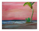 Sunset Daydreams Giclee Print by Barbara Aliaga