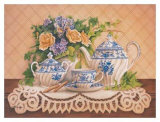 Tea and Lace I Posters by Anne Browne