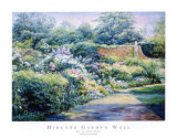 Hidcote Garden Wall Posters by Linda Lee