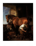 Shoeing Art by Edwin Henry Landseer
