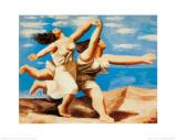 Women Running on the Beach, c.1922 Poster van Pablo Picasso