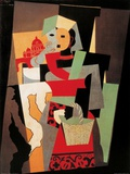 L&#39;Italienne, c.1917 Prints by Pablo Picasso