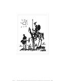 Don Quixote, ca. 1955 Plakat av Pablo Picasso