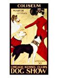 Dog Show Giclee Print