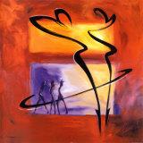 Alfred Gockel - Rumba včerveném (Rhumba in Red I) Umění