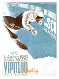 Campionati Italiani Assoluti di Sci Giclee Print