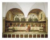 Den sidste nadver Plakater af Domenico Ghirlandaio