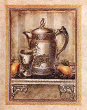 Pitcher and Goblet II Print by Elizabeth King Brownd