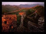 La Grande Muraille de Chine Poster par Yann Layma