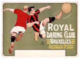 Royal Daring Club, Bruxelles Giclee Print by  T'Sas