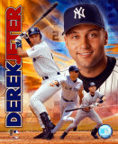 2003 Derek Jeter Portrait Plus Photo