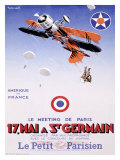 Meeting de Paris, St. Germain Giclee Print