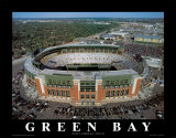 Green Bay Packers - New Lambeau Field Plakater av Mike Smith