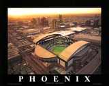 Arizona Diamondbacks Print by Mike Smith