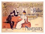 Antoni Utrillo - Grandes Salones y Academia de Billar Digitálně vytištěná reprodukce