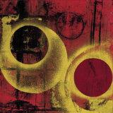 Esfera en Rojo II Posters by Monica Diaz