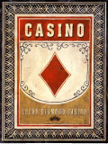 Casino Diamond Prints by Angela Staehling
