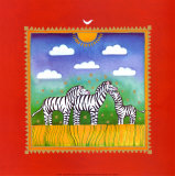 Zebras Prints by Linda Edwards