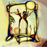 Spotlight on Guitar Prints by Alfred Gockel
