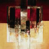 Composizione in Rosso Posters by Giuliano Censini