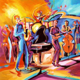 Full Swing II Affiches par Alfred Gockel