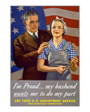 Do My Part, U.S. Labor Poster Stampa giclée