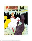 Moulin Rouge, vers 1891 Posters par Henri de Toulouse-Lautrec