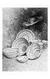 Yokuts Baskets Impression giclée par Edward S. Curtis