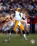 Brett Favre - Multiple Exposure II Vertical Photo