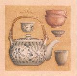Teekanne III Kunstdruck von Laurence David