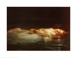 La Jeune Martyre Prints by Paul Delaroche