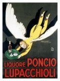 Liquore Poncio Lupacchioli Gicléetryck av Achille Luciano Mauzan