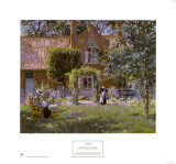 Unpretentious Garden Prints by Gari Melchers