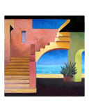 Cabo San Lucas Giclee Print by Rick Kersten
