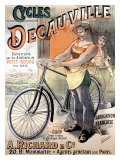 Cycles Decauville Giclee Print by Alfred Choubrac