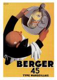 Berger 45 Poster von Roland Ansieau