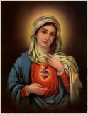 Sacred Heart of Mary Prints
