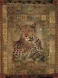 Leopard Kunstdrucke von Rob Hefferan