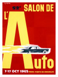 52nd Salon de l'Auto, 1965 Giclee Print by Pierre Fix-Masseau