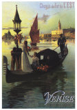 Venise Posters by Hugo D&#39;Alesi