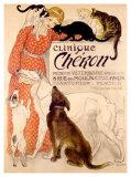 Clinique Cheron, c.1905 Giclee Print by Théophile Alexandre Steinlen