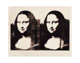 Andy Warhol - Double Mona Lisa, 1963 - Reprodüksiyon