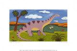 Dippy the Diplodocus Plakater af Sophie Harding