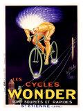 Cycles Wonder Reproduction procédé giclée par Paul Mohr