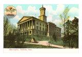 Nashville State Capitol, Tennessee Art Print