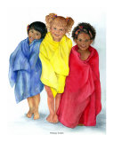 Primary Colors Giclee Print by Carole T. Garrard